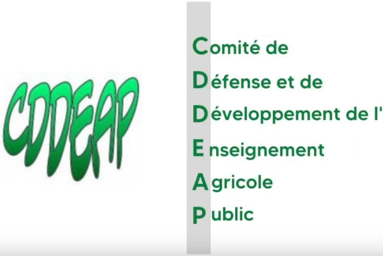 Réunion du comité de Défense et de Développement de l'Enseignement Agricole